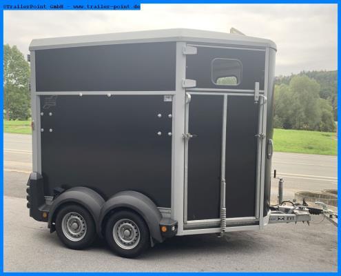 Ifor Williams - HB506 Frontrampe - schwarz - Lagerfahrzeug