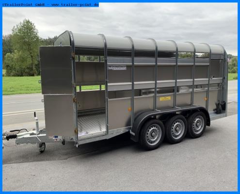 Ifor Williams - TA510 G14 434x178x182 3-Achser - Lagerfahrzeug