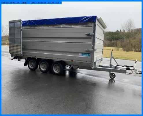 Andere - TWIN TRAILER TR35-40 TRANSPORTER + KIPPER in 1 - Bestellfahrzeug im Vorlauf