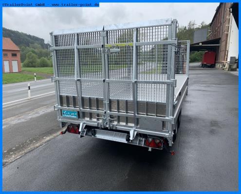 Andere - TWIN TRAILER TT35-35 TRANSPORTER + KIPPER in 1 - Lagerfahrzeug