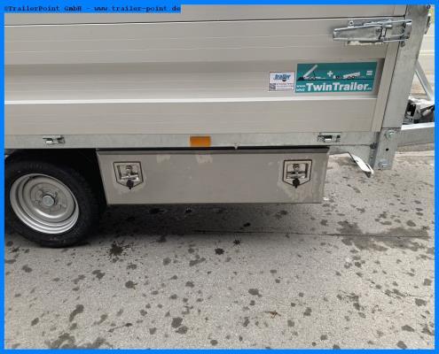 Andere - TWIN TRAILER TT35-40 TRANSPORTER + KIPPER IN 1 - Lagerfahrzeug