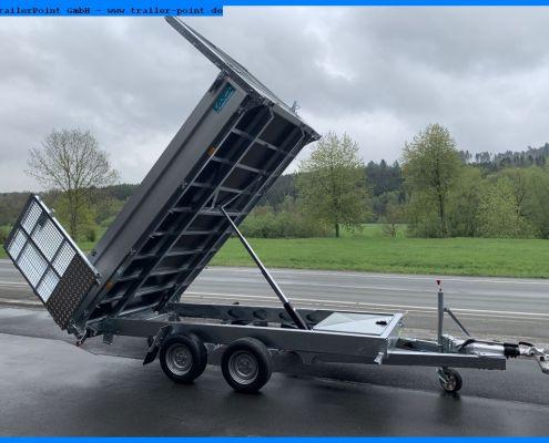 Twin Trailer TT35-35 hoch gekippt