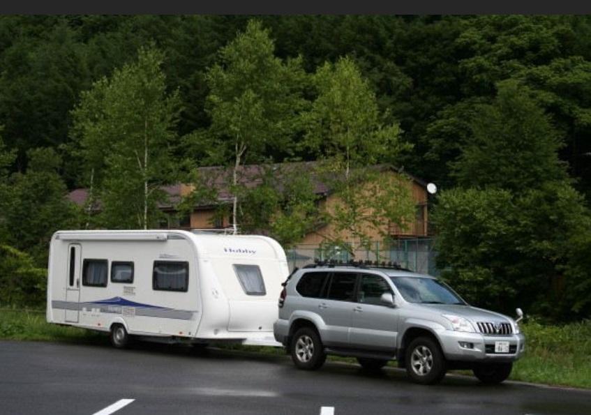 camping trailer cavaran キャンピングトレーラー キャラバン by Disco-4@東京