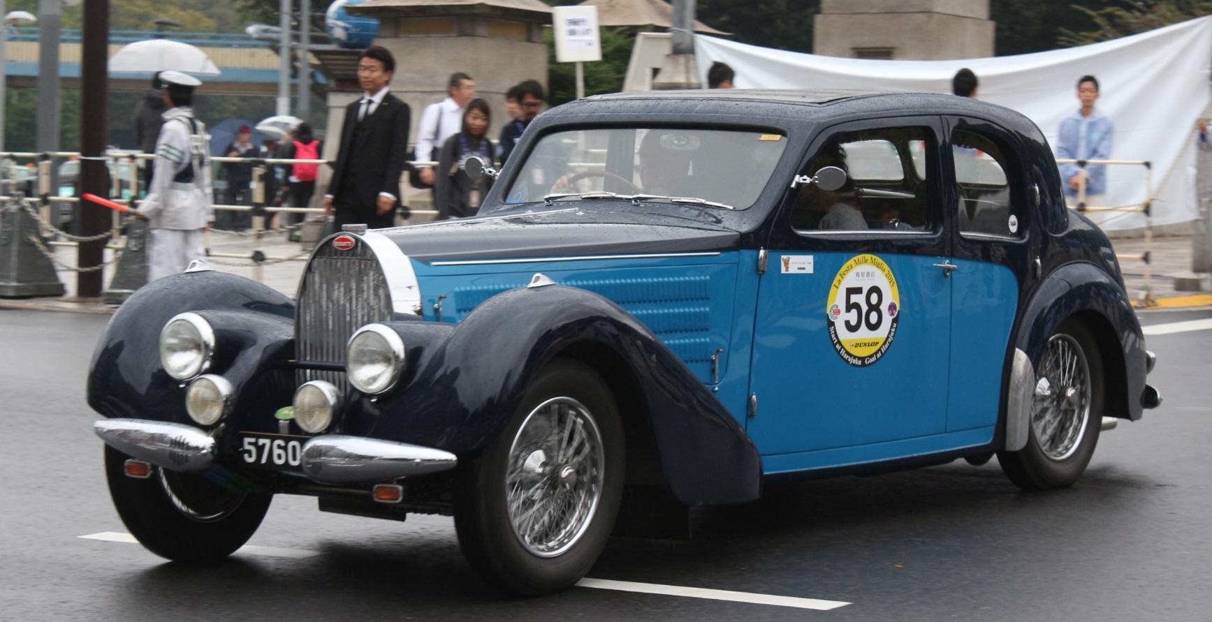Bugatti, Bugatti T57, Bugatti T57 Galibier, International Bugatti Meeting Japan, La Festa Mille Miglia, LFMM, T57 Galibier, ブガッティ, ラフェスタミレミリア