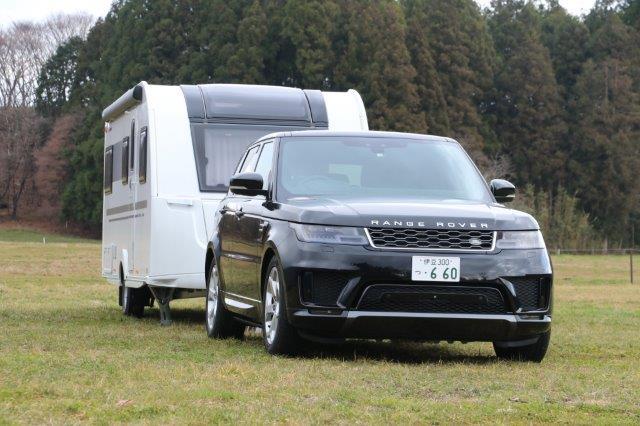 Range Rover, Land Rover, Range Rover Sport, JLR 三島, ランドローバー, レンジローバー, ランドローバー三島, ジャガー・ランドローバー三島, レンスポ, レンジローバー スポーツ, キャラバン, caravan, camping trailer, キャンピングトレーラー,