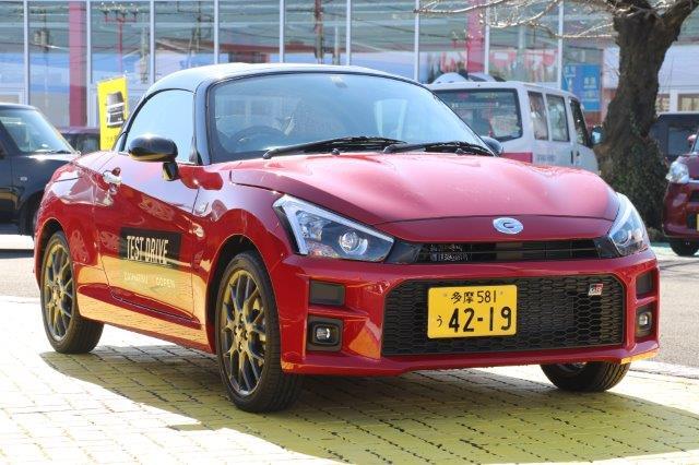 ダイハツ, コペン, daihatsu, copen, GR sport, Copen GR sport, roadster, open car,