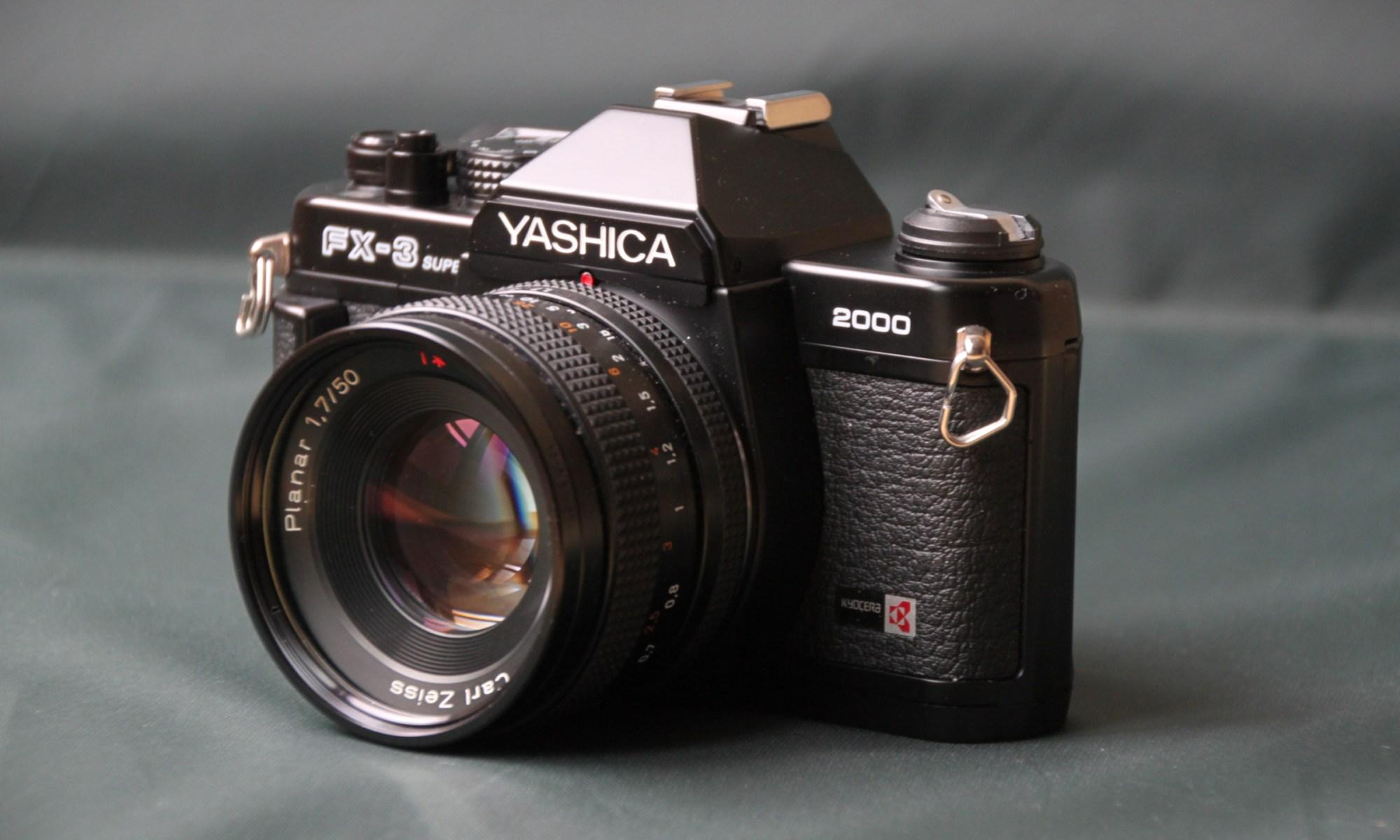 京セラ, ヤシカ, FX-3, FX-3 Super 2000, カールツァイス, kyocera, yashica, FX-3, FX-3 Super 2000, Carl Zeiss, Carl Zeiss Lens, Planar, プラナー,