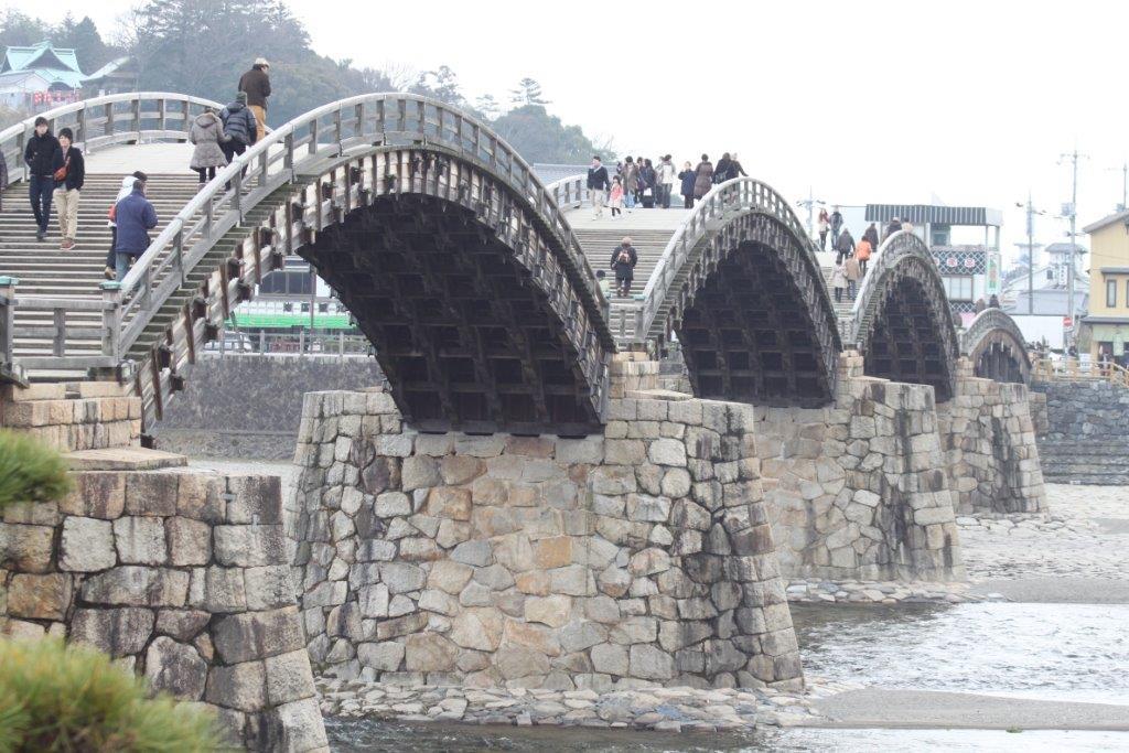錦帯橋, 岩国城, 岩国, 山口県, kintaikyo, kintaikyo bridge, iwakuni castle, wooden bridge,