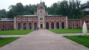 Das Ziel der 1. Etappe in Bad Reichenhall. Die Alte Saline