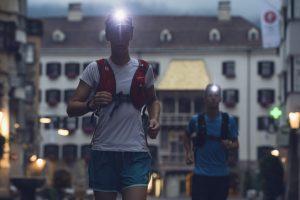 Start in Innsbruck / Fotocredit: Stubai Ultratrail/Andre Schönherr an.