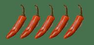 5 star hot chilli flavour