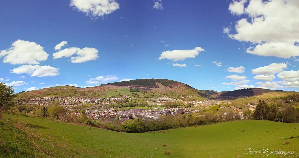 Afan Valley panorama