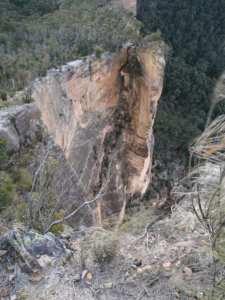 Baltzer Lookout Hanging Rock