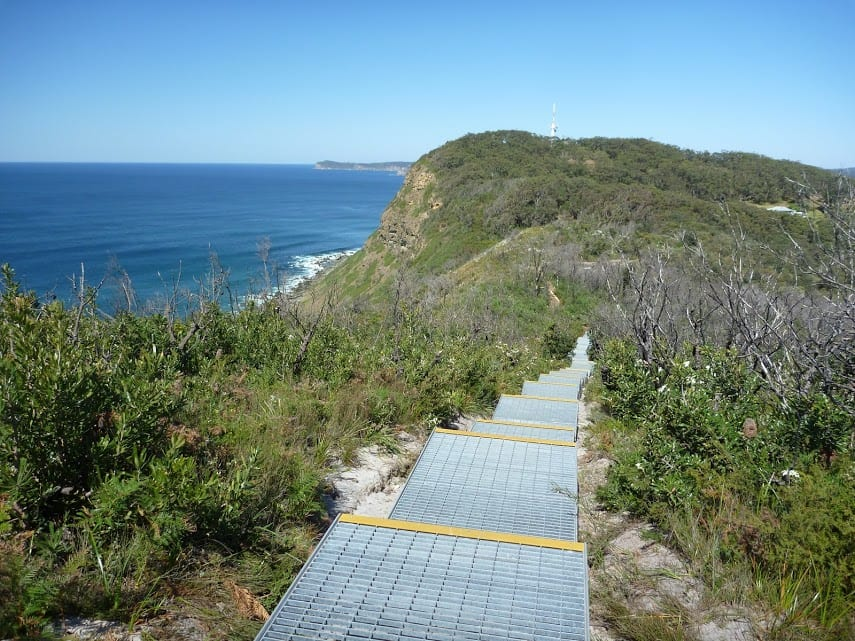 Wyrrabalong Lookout to Crackneck Lookout