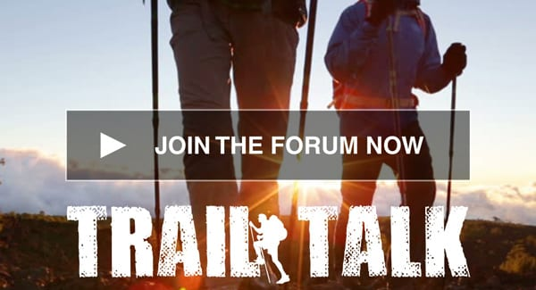 Join the Trail Talk Forum
