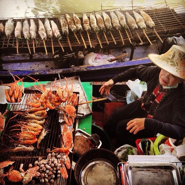 Taling Chan Floating Market - Bangkok