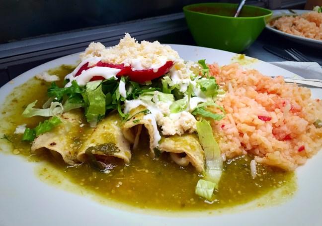 Enchiladas - Mercado Hidalgo, Guanajuato