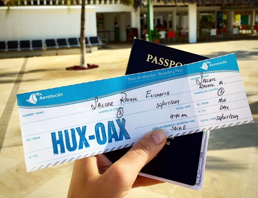 How to Fly Aerotucan from Huatulco to Oaxaca