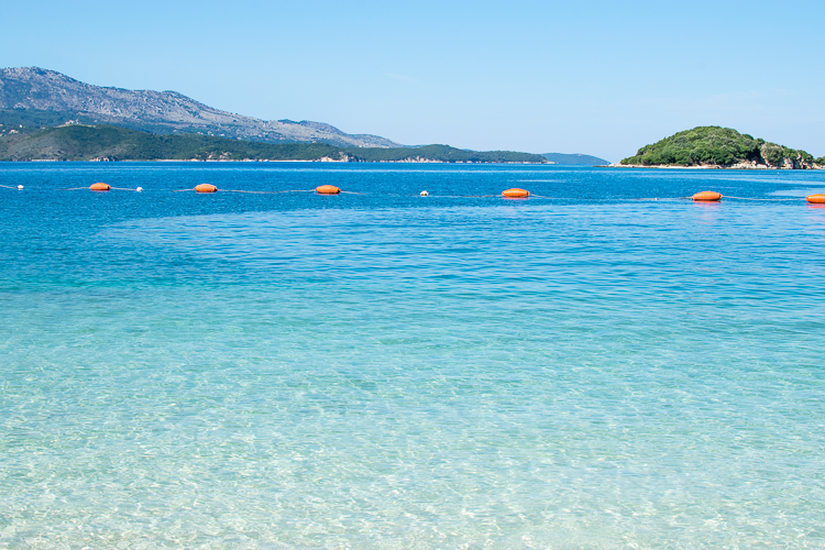 Saranda to Ksamil Beaches Albania - Trailing Rachel