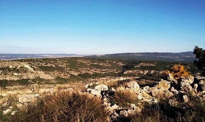 Panoramicas de las montañas conquenses