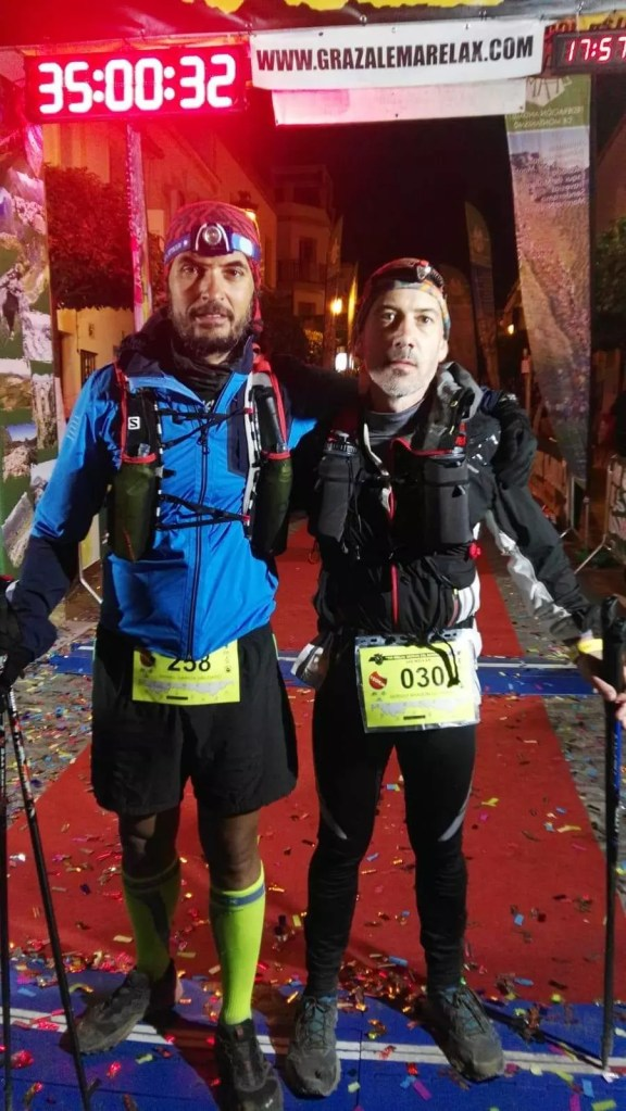 Finisher de las 100 millas de bandoleros