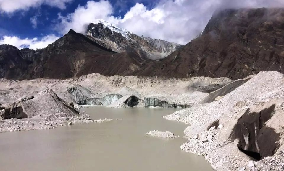 Glaciar de Gokio (Fuente: Manuel Ruiz Quilez)