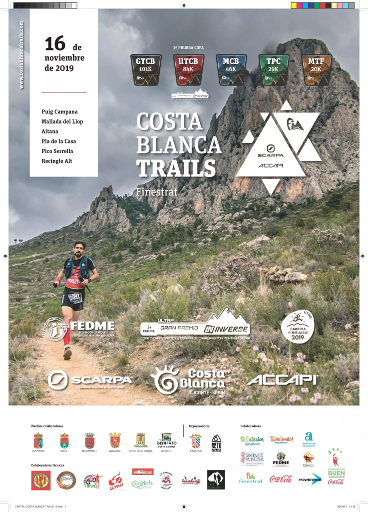 Costa Blanca Trails - Principal