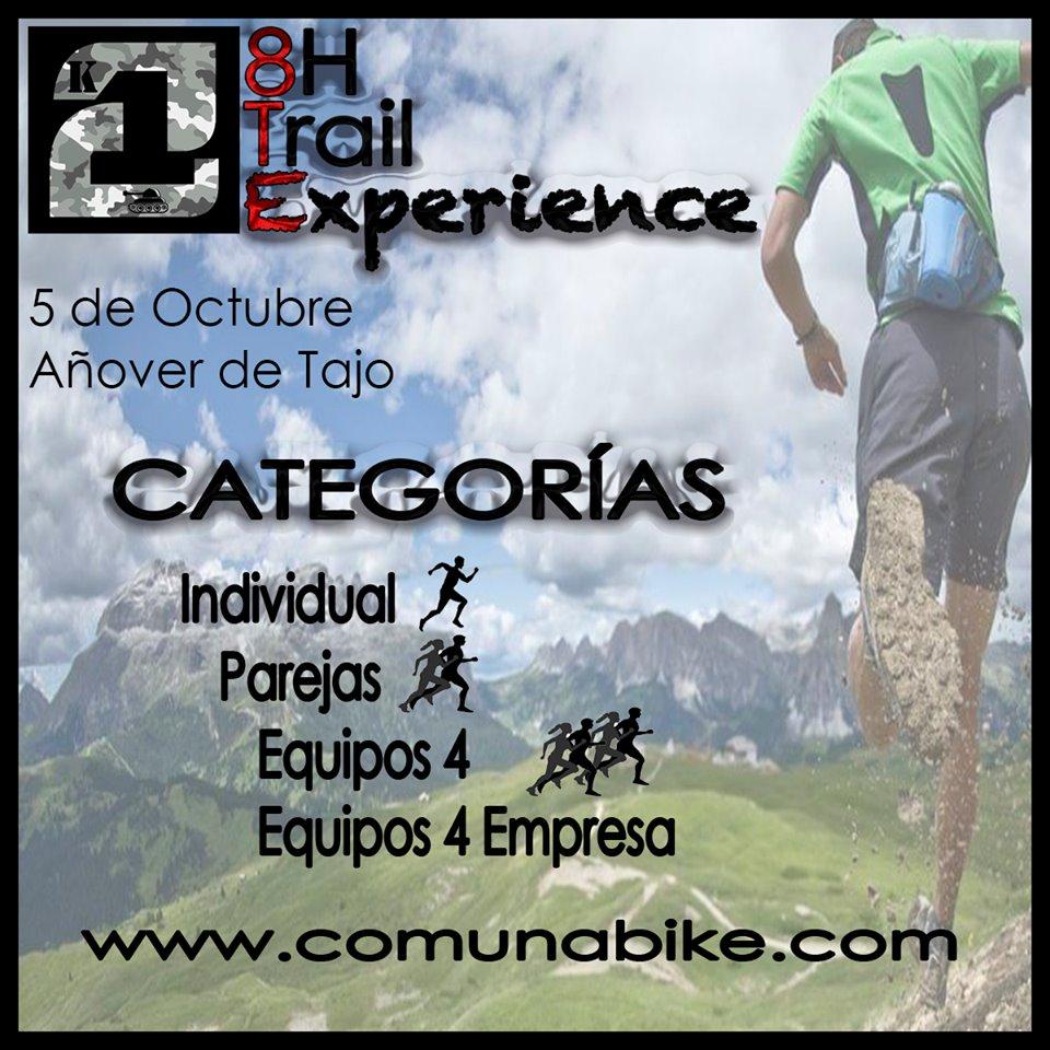 Categorías 8H  - Trail Experience