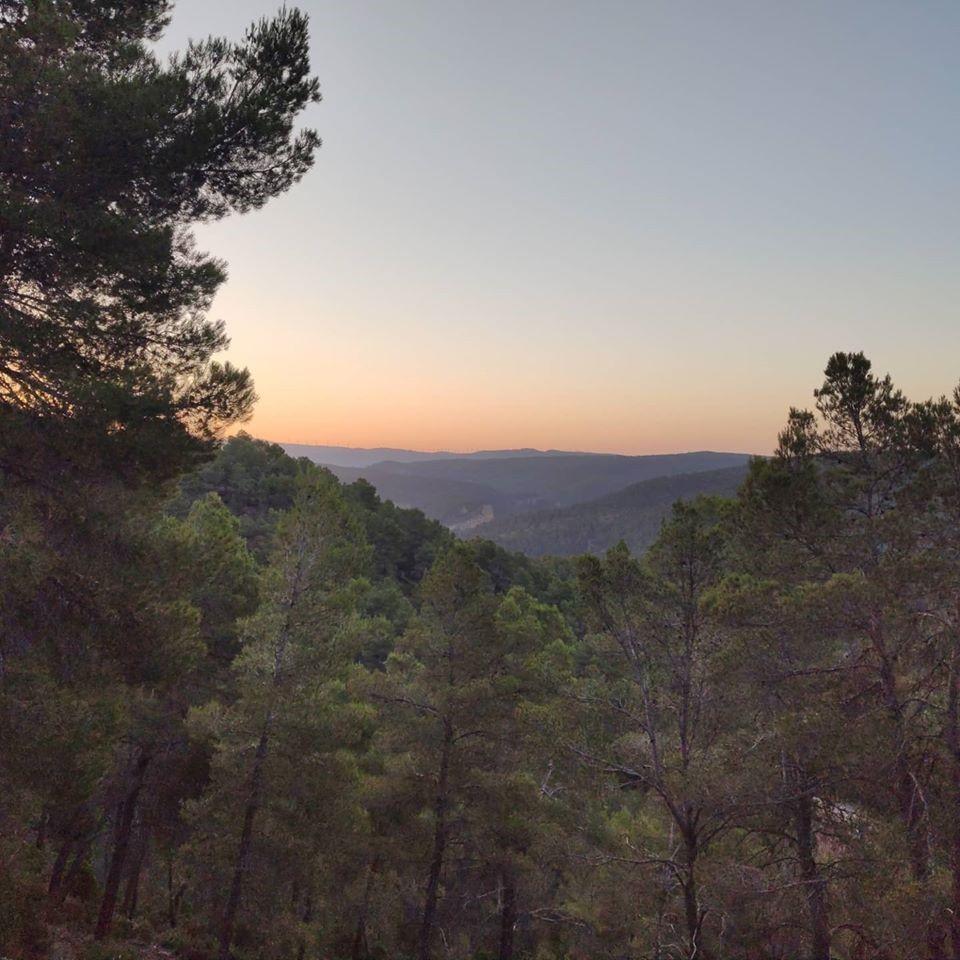 Amanecer desde el Cerro Carril - Coqueteando con la autosuficiencia