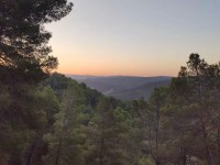 Amanecer desde el Cerro Carril