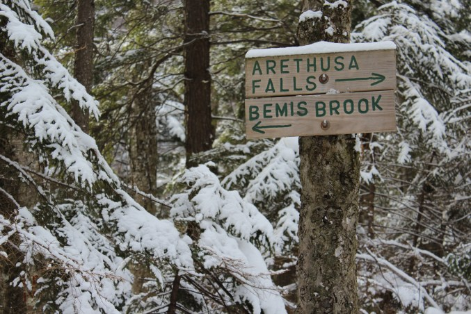 arethusa falls winter