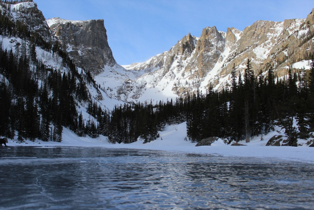 Winter in rocky mountain national park trails unblazed for Bumping lake cabin rentals