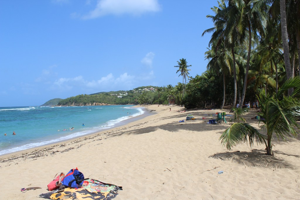 l'tang beach Martinique