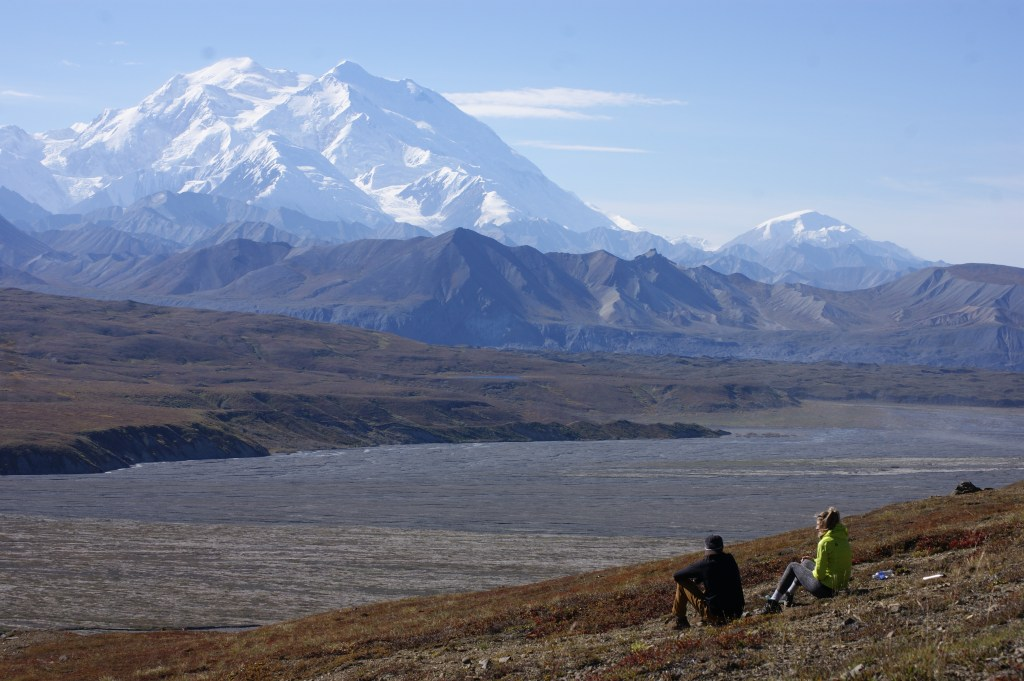 denali view - shuttle bus
