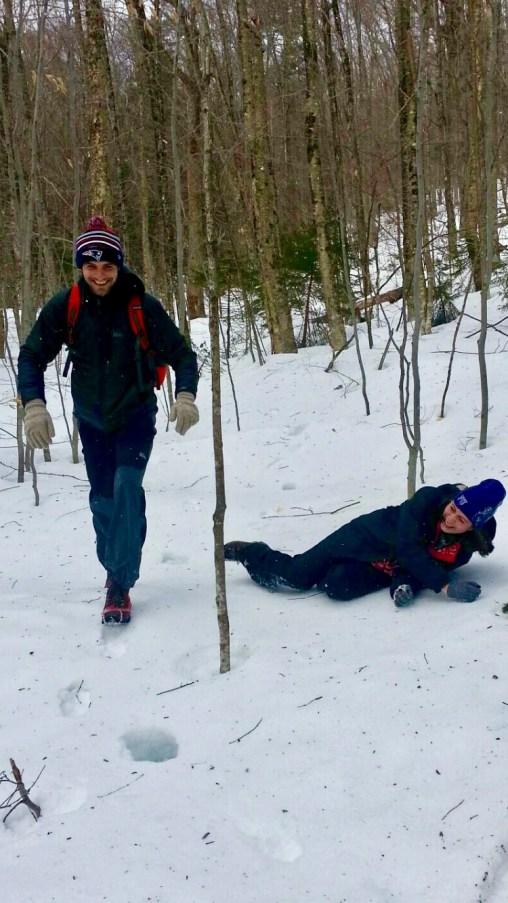 mt. tecumseh winter hike