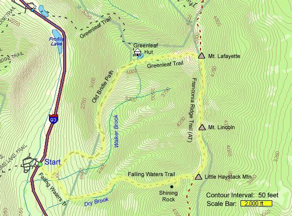 franconia ridge spring hike