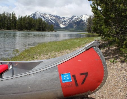 The Best Way to Experience the Grand Tetons is by Canoe