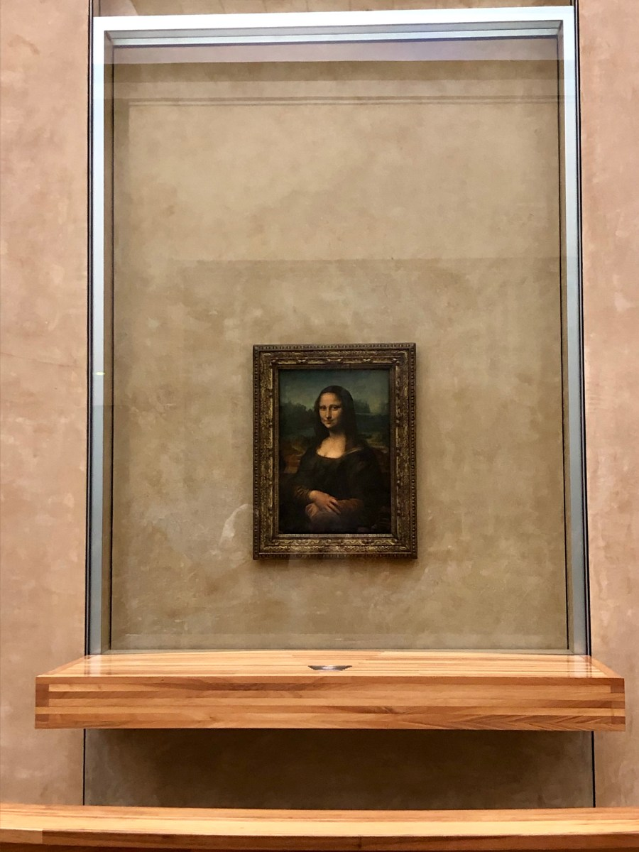The Mona Lisa is…Small