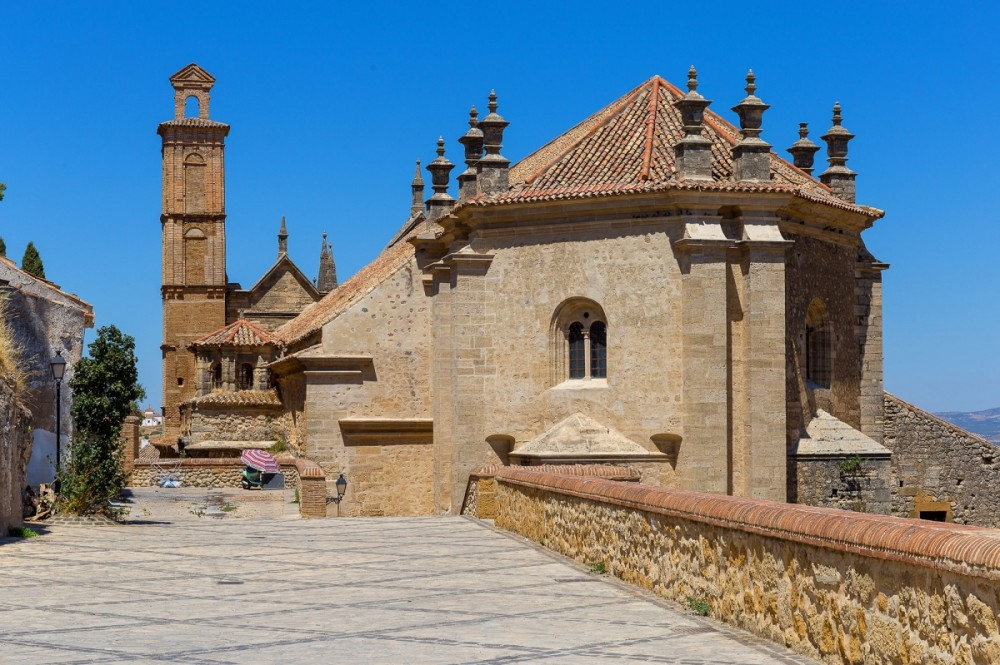 Experience the real Spain when you visit one of the churches in Antequera with our off-road motorcycle tours