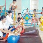 Giai đoạn 2012 – 2015: Phục hồi chức năng cho khoảng 60.000 trẻ em và người khuyết tật