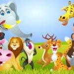 Tô màu theo chủ đề: Động vật hoang dã