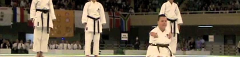 JKA Nederland Dave Kengen Demo Funakoshi Gichin Cup World 2014
