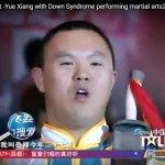 Cậu bé có hội chứng down biểu diễn Woshu trong chương trình China Got Talent
