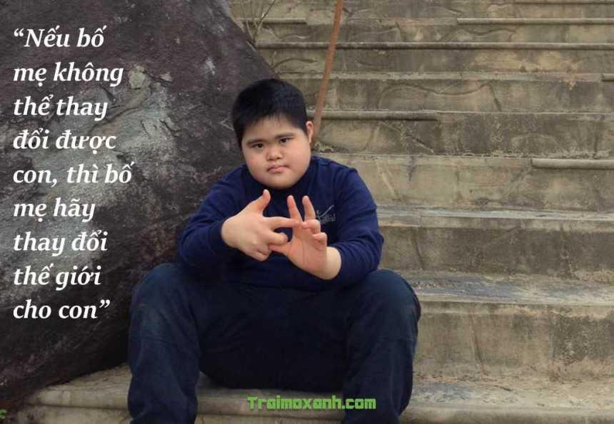 Những câu nói truyền cảm hứng tới cha mẹ có con mắc hội chứng Down (1)