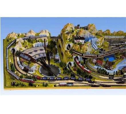 decor modelisme ferroviaire