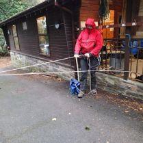 Assisted handline rigging
