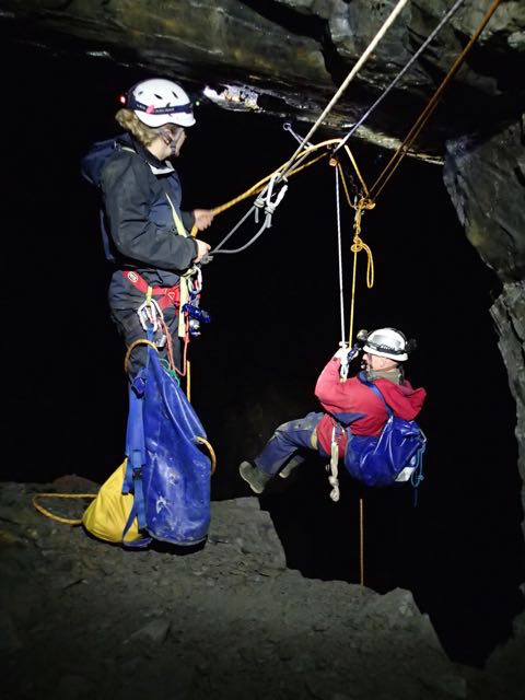 Local Cave and Mine Leader Award Training Courses at Oaklands OEC, April 2017