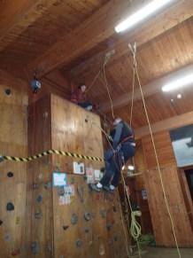 SRT at the climbing wall