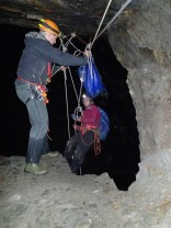 Good pith head management, great high belay position