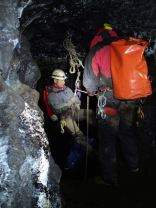 Good management of the pitch head, nice high abseil rigging
